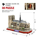 Zoom IMG-1 cubicfun puzzle 3d led notre