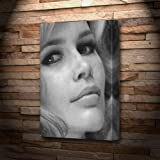 CLAUDIA SCHIFFER - Canvas Print (A5 - Signed by the Artist)