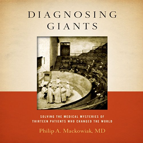 Diagnosing Giants audiobook cover art