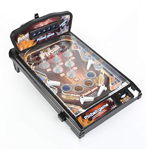 LPing Juego electrónico de Super Pinball,Juego de máquina de Pinball para Adultos,Arcade Retro,diseño de Cuatro Barras,Juguetes educativos para niños