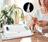 InLoveArts Trapano elettrico per unghie 30000 giri/min per principianti 5in1,set trapano elettrico professionale per manicure con LED UV,smerigliatrice manicure tampone pedicure attrezzatura da salone