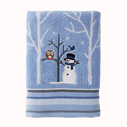 SKL Home by Saturday Knight Ltd. Winter Friends Bath Towel, Blue