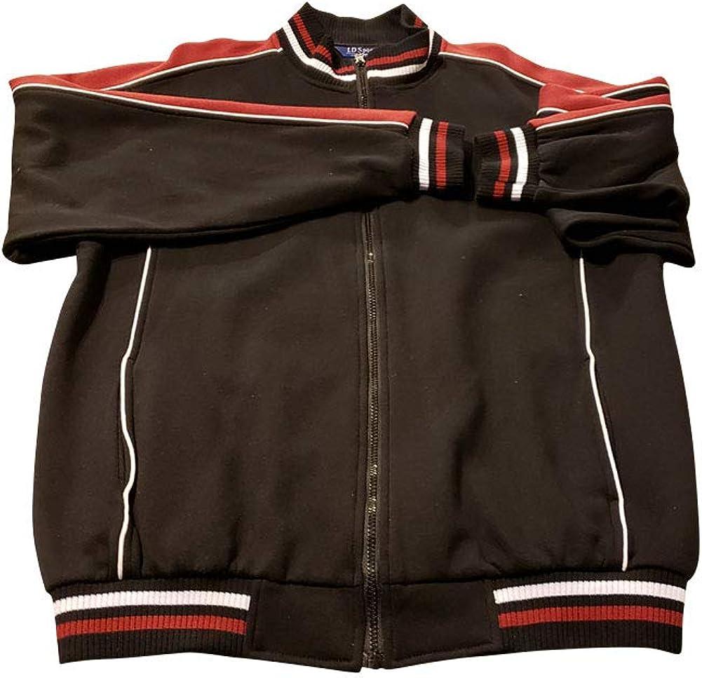 Big and Tall Premium Fleece Track and Lounge Jacket Sweatshirts