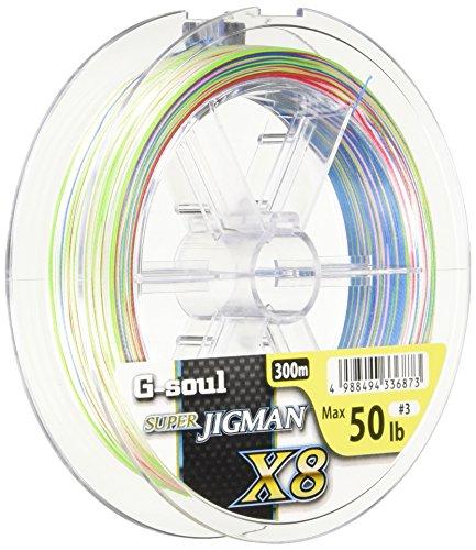 よつあみ(YGK) PEライン 0.8号 16lb 8本 300m Gソウル スーパージグマン X8 5色