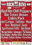 Rock AM Ring & Park - Gesamtplakat, Rock am Ring 2004 »