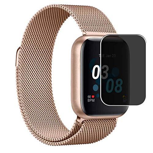 Vaxson TPU Pellicola Privacy, compatibile con iTouch Air 3 Smartwatch, Screen Protector Film Filtro Privacy [ Non Vetro Temperato ]