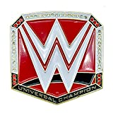 Loot Crate WWE Universal Champion Masters of The Mic Red Collectible Pin- Special Edition Pin- Authentic Raw WWE Championship Belt Pin