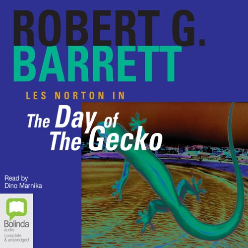 The Day of the Gecko audiobook cover art