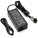 24V 1.5A Power Supply with 3-Prong for 36W Razor MX350 MX400 E100 E125 E150 E175 E200 E200S E300 E300S E225S E325S E500 PR200 Scooter Battery Charger 50/60Hz Power Adapter