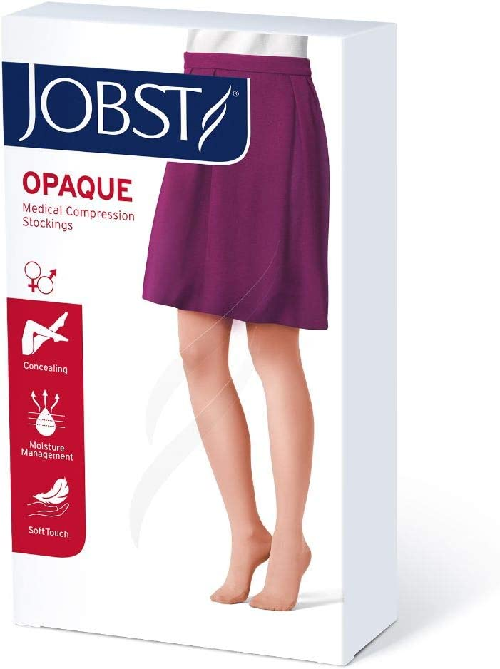 BSN Medical Free shipping New 115280 Jobst Opaque with New color Closed Toe Compression Hose