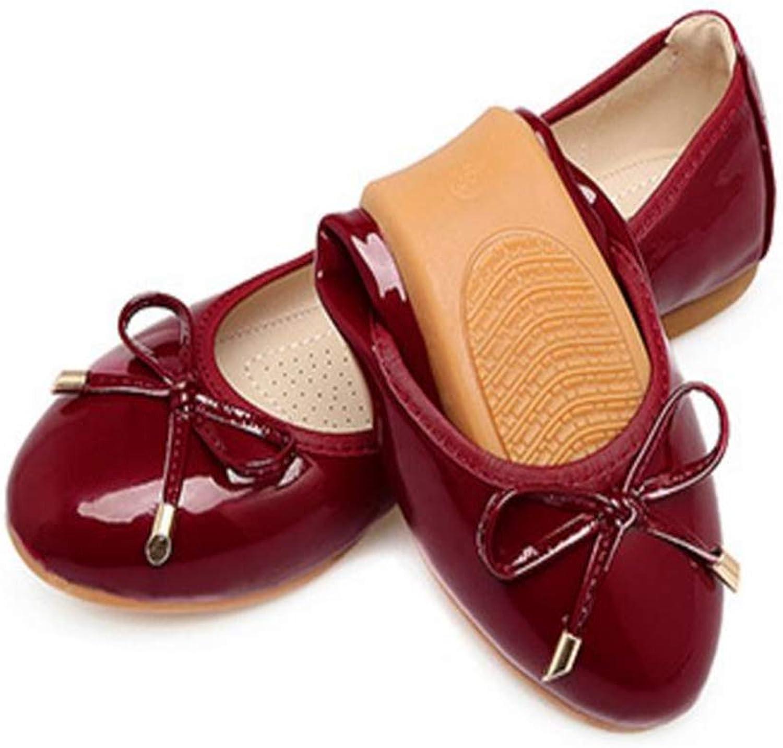 FORTUN Women's Egg roll shoes Flat shoes peas shoes Elegant Dance shoes