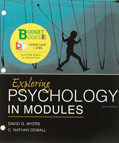 Download Exploring Psychology in Modules 1319061540