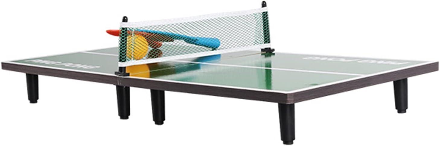 Mesa De Ping-Pong Pequeña, Mini Mesa De Tenis De Mesa para Niños/Adultos, Mesa De Ping-Pong De Almacenamiento Plegable, 90x40x6.5cm