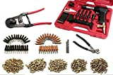 Wicks Aircraft Airstream Buck Riveting Kit with 3X Rivet Gun, Rivets, Rivet Cutter, Cleco's, Cleco Pliers, and Drill Bits
