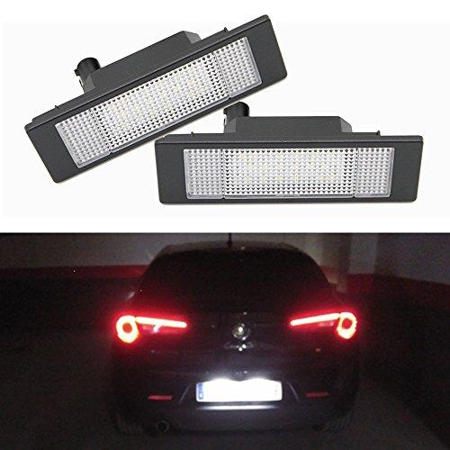 Luz LED para matrícula de coche, sin error, 24 ledes, para E81 E87 E63 E64, E89, Z4, F20 y F21