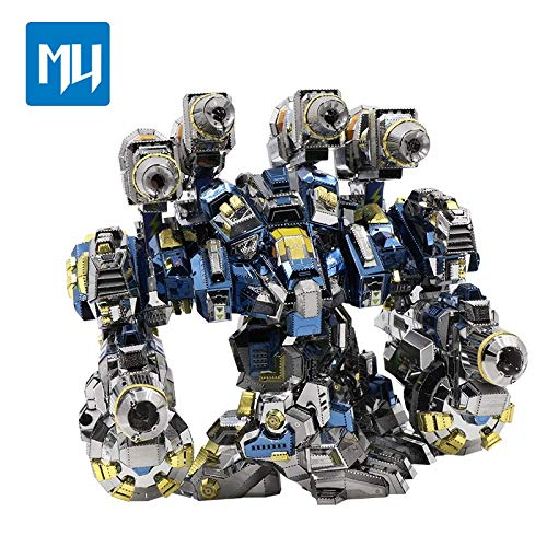 2016 MU 3D Metal Puzzle Thor Armor YM-N020 Joint Movable DIY 3D Laser Cut Models Jigsaw Toys