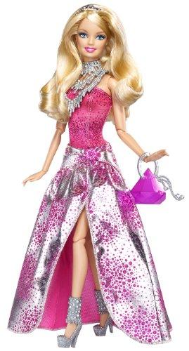 Barbie V4390 Fashionista Glam - Muñeca articulada con
