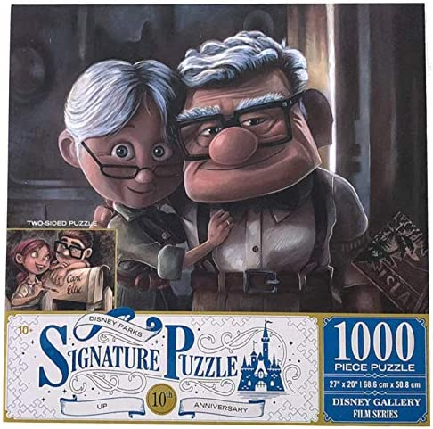 DisneyParks Up Carl Ellie 10th Anniversary Two Side 1000 Piece Puzzle New product image