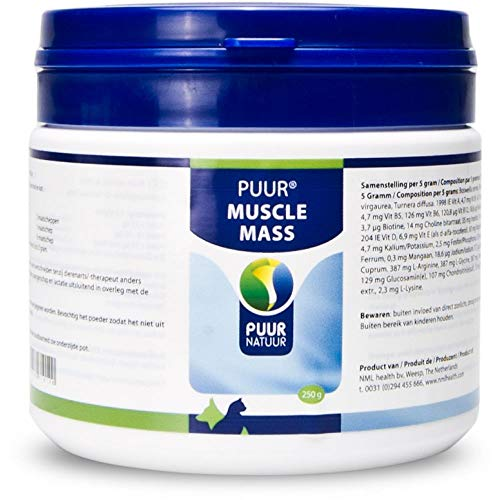 Puur Muscle Mass Hund & Katze (ehemals Muskelaufbau) - 250 g