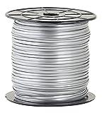 Toner Crafts Silver 100YD Spool, 100 yd