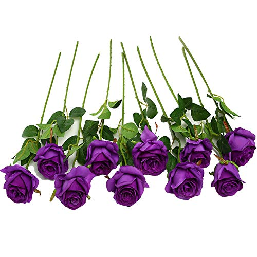 Best artificial flowers dark purple for 2020