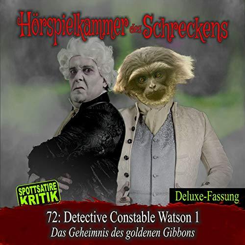 Page de couverture de Detective Constable Watson 1 - Das Geheimnis des goldenen Gibbons
