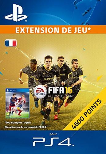 4 600 Points FIFA 16 [Extension De Jeu] [Code Jeu PSN PS4 - Compte français]