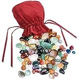 Kit de más de 60 piezas Mini Piedras naturales variadas para...