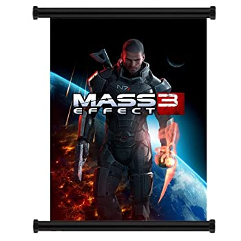 Mass Effect 3 Game Fabric Wall Scroll Poster  31 x42   Inches