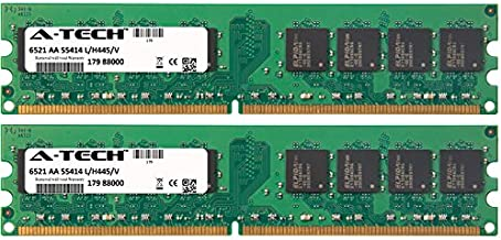 A-Tech 4GB KIT 2X 2GB for EMachines EL Desktop Series EL1200 EL1200-06w EL1200-07w EL1210-09 EL1210-11 EL1300 EL1300G EL1300G-01w EL1300G-02w DIMM DDR2 Non-ECC PC2-6400 800MHz RAM Memory