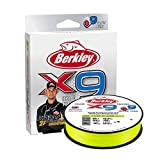 Best Braided Lines - Berkley Jordan Lee x9 Braid Fishing Line Review