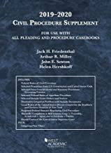 Civil Procedure Supplement, for Use with All Pleading and Procedure Casbooks, 2019-2020 (American Casebook Series)