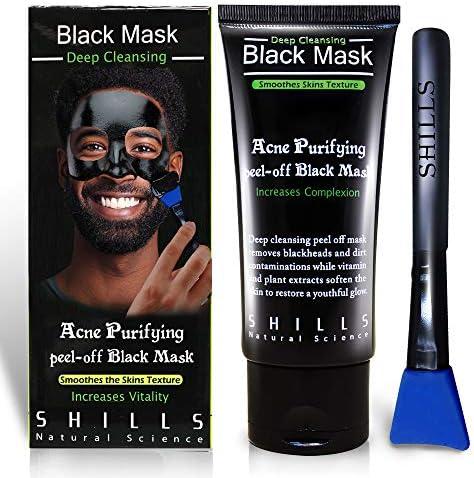 SHILLS Black Mask Blackhead Remover Mask Charcoal Peel Off Mask Charcoal Mask Charcoal Mask product image