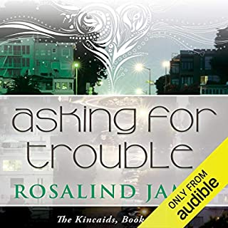 Asking for Trouble audiobook cover art