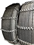 TireChain.com 265/75R22.5, 265 75R22.5 Studded Dual Tire Chains Set of 2