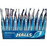 HALLS Relief Mentho-Lyptus Flavor Cough Drops, 12 Bags (360 Total Drops)