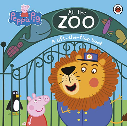 Peppa Pig: At the Zoo: A Lift-the-Flap Book (Peppa Pig Lift the Flap Book)