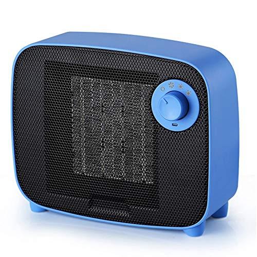 JCCOZ -URG - Calefactor eléctrico vertical de 1500 W, mini calefactor con ajustes de calor 3, termostato y seguridad con corte de apagado y aire fresco para casa, oficina de EE. UU.