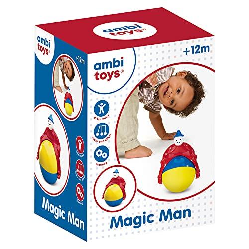 Ambi Toys- Magic Man-Jeu d'éveil et développement de la motricité pour bébé et Enfant dès 12 Mois, 131154, Multi