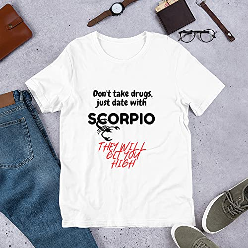 Scorpio Novelty - Camiseta con texto en inglés 'Funny Astrological Gifts