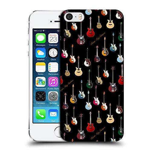 Head Case Designs Ufficiale Queen Chitarra Brian May Cover Dura per Parte Posteriore Compatibile con Apple iPhone 5 / iPhone 5s / iPhone SE 2016