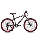 Mountainbike 26 Zoll, 21/24 Geschwindigkeit mit Doppelscheibenbremse, Adult MTB aus...