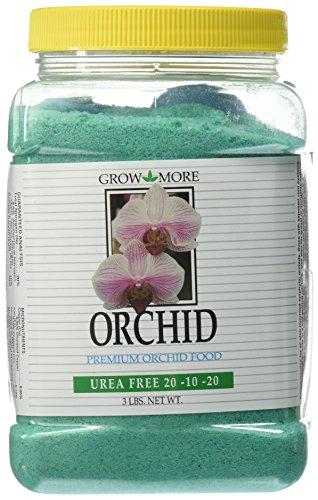 Grow More 7517 Urea Free Orchid 20-10-20 Fertilizer, 3-Pound