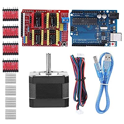 Broco For Quimat Arduino CNC Shield Contoller Kits with Stepper Motor for 3D Printer