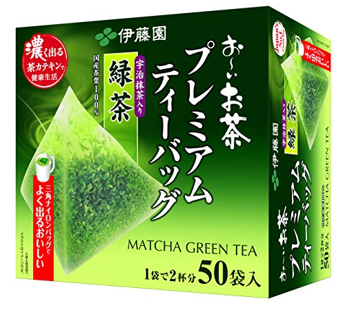 Itoen Premium Tee Bag Green Tea 1.8g - 50 peace - Green Tea - (Pack Type)
