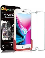 OAproda iPhone8/7/6/6s 用 ガラスフィルム 4.7インチ 液晶保護強化ガラス ガイド枠付き 2枚セット