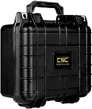 Common Sense Cases 5001 Single Pistol Hard Case with DIY Foam - Weather Resistant - Internal Dimensions: 9
