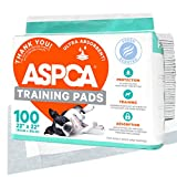 ASPCA AS62930 Dog Training Pads, Pack of 100, Gray, 22' x 22' - Pack of 100