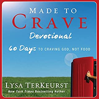 Made to Crave Devotional audiobook cover art
