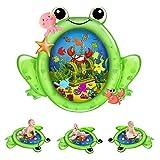 Kaome Wassermatte Baby Wasserspielmatte BPA-frei Groß Große, Aufblasbare Spielmatte Baby Spielzeug...